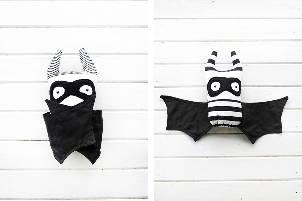 How to make a halloween toy bat