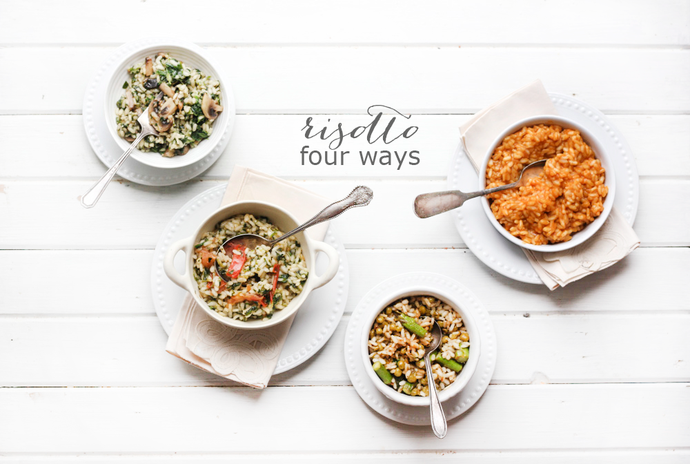 Risotto Four Ways | 27th and Olive
