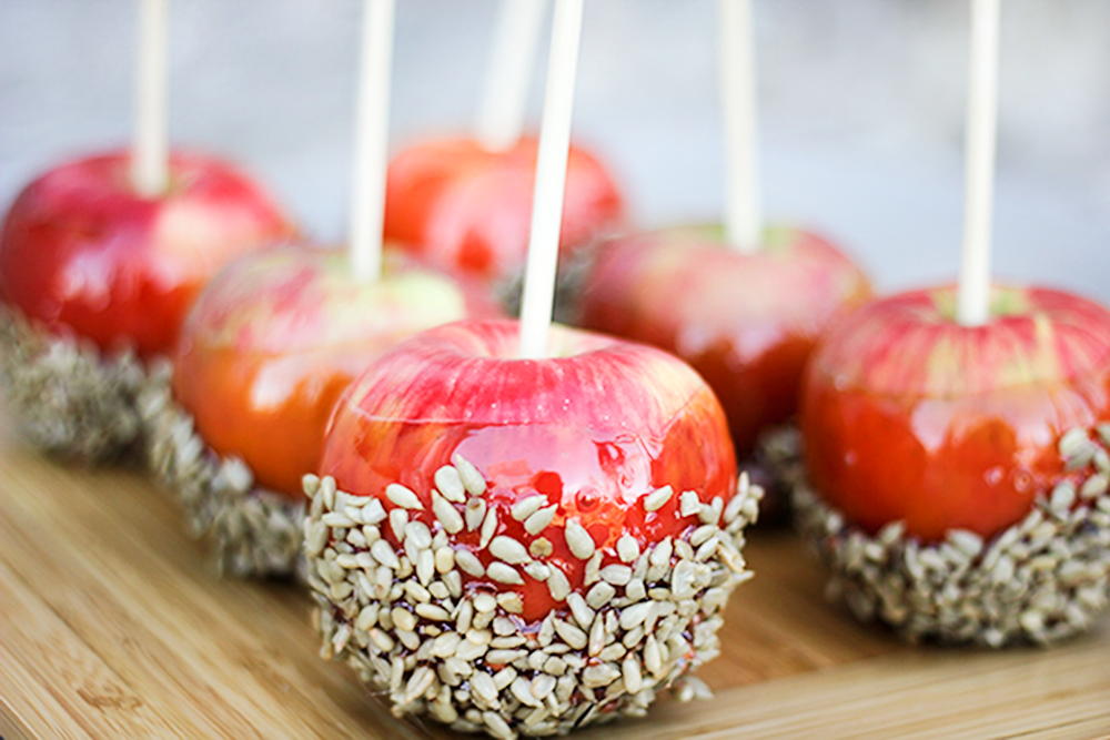 Salted Cinnamon Candy Apples | 27th and Olive