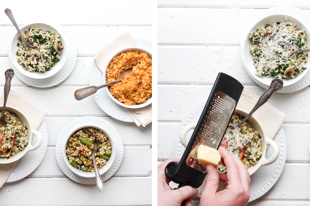 Risotto Four Ways
