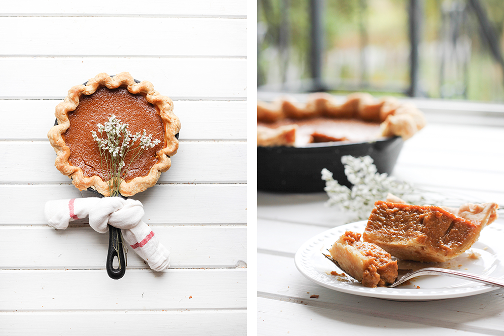 Butterscotch Pumpkin Pie | 27th and Olive