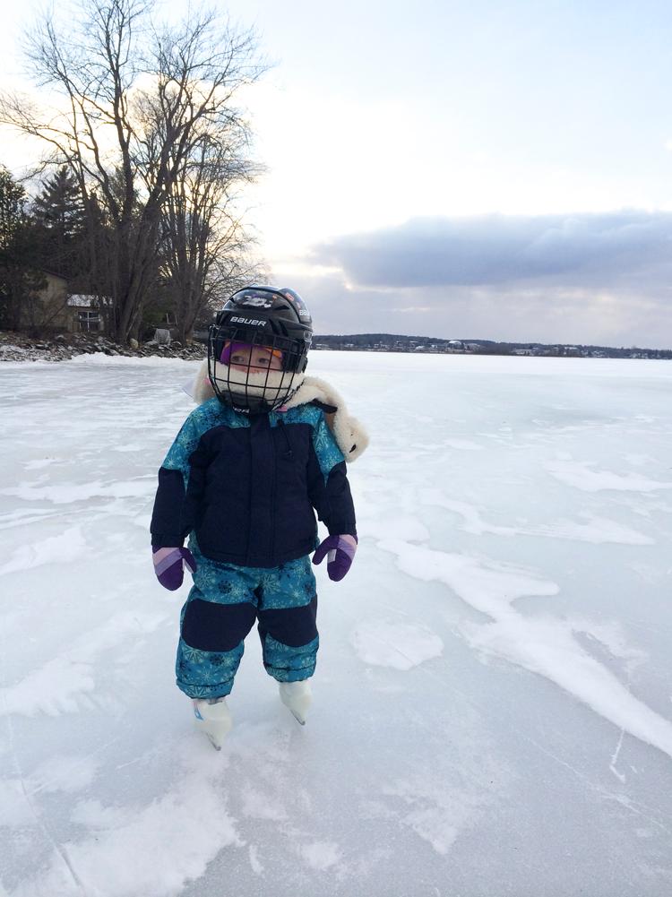 Olive Lake Skating