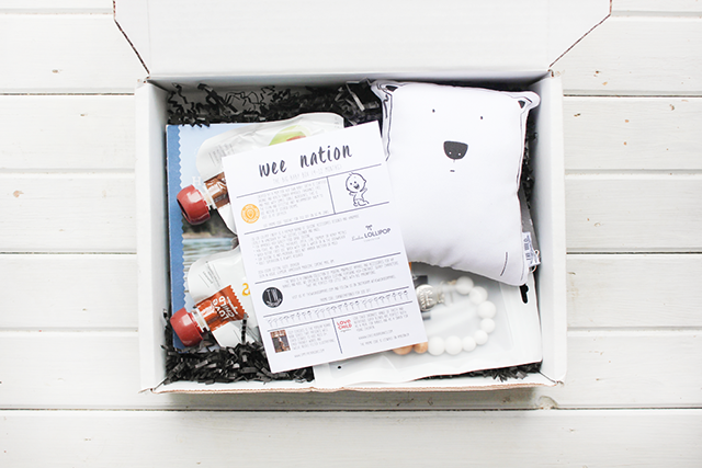 Finally a Canadian Baby Subscription Box: Wee Nation + Giveaway!!